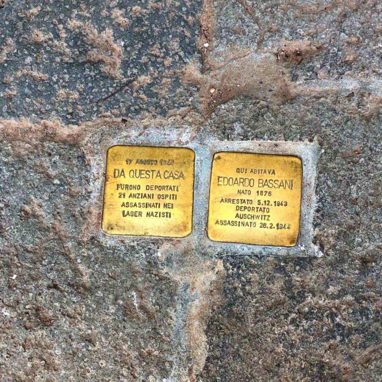 Stumbling stones