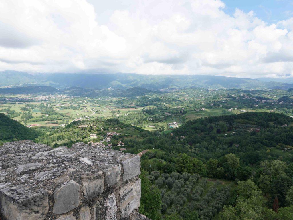 A view from the Rocca di Asolo